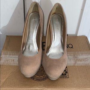 Bamboo heels ! Size 7/12